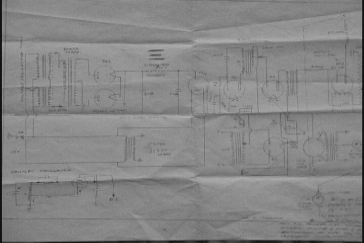 Photo of Original Schematic
