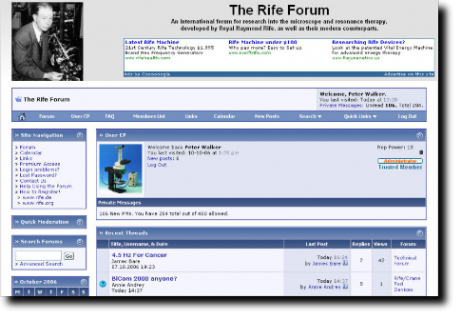 The Rife Forum